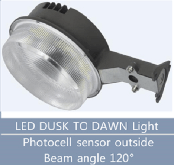 LED Dusk To Dawn Light LN-YAXW58-U-LS-QW-BR-U-C-00