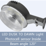 LED Dusk To Dawn Light LN-YAXW50-U-LS-QW/WW-BR-U-C-00